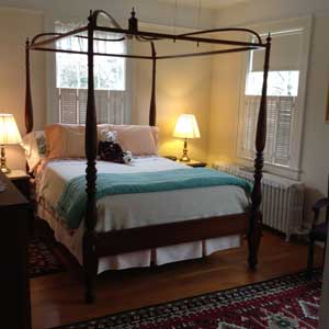 The Capital Room at the Alice Person House - a Williamsburg VA Bed and Breakfast